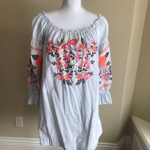 Free People off the shoulder mini